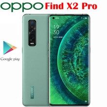 Original Neue Offizielle OPPO Finden X2 Pro 5G Handy Snapdragon 865 6,7 zoll 3168x1440P Hinten kamera 48MP + 48MP + 13MP NFC 4260mAh