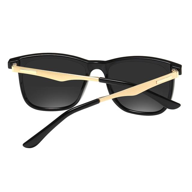 2020 Fashion Retro Women's HD Polarized Sunglasses UV400 Protection Square Anti-glare Driving Sun Glasses for Men 3
