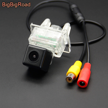 BigBigRoad Vehicle Wireless Car Rear View Camera HD Color Image For Mercedes Benz S204 S212 W212 C216 W216 W218 A207 C207 C204