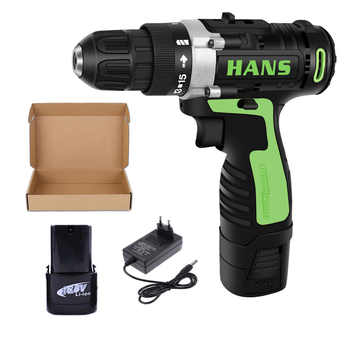 Hand Drill 12V ED02 Cordless Electric Impact Power Drills Battery Screwdriver Rotary Tools For Woodworking Parafusadeira taladro - DISCOUNT ITEM  30% OFF All Category