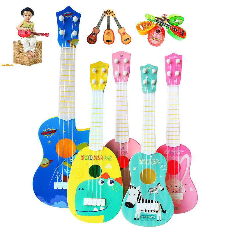 Mini Ukulele Guitar Musical Instruments Toys Educational Kids Musical Instrument Toy For Kids Musical Toys For Baby Toys