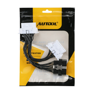 Image 5 - OBD2 II Extension Cable One 16Pin Male Port to Dual 16 Pin Female Port OBD 2 ODB2 Car Diagnostic Connector