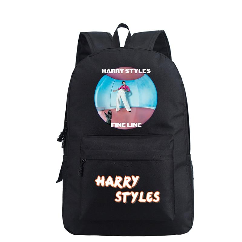 Mochila Bookbag Harry Styles Backpack School Bags For Teenage Girls Women Backpack Laptop Bagpack Travel Bags Pink Backpack Kids