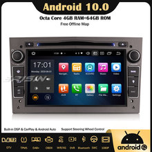 DVD GPS Carplay Opel Android Vauxhall Astra Corsa-C/d Vectra Car-Stereo DSP 4 64G