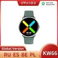 IMILAB глобальная версия KW66 Смарт-часы женские Смарт-часы фитнес-трекер водонепроницаемые Смарт-часы управление музыкой для iOS Android