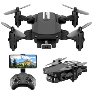 Mini RC Helicopter WiFi FPV Folding Aircraft 4K HD Wide Angle Camera Aerial Photography Dron 6-Axis Fixed Height Quadcopter Gift