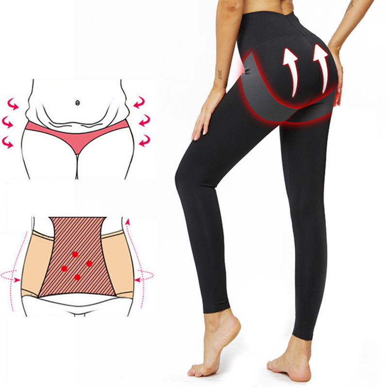 High Waist Push Up Leggings Fitness Pants Slimming Anti Cellulite Leggings Compress Trousers Workout Clothes Plus Size Women