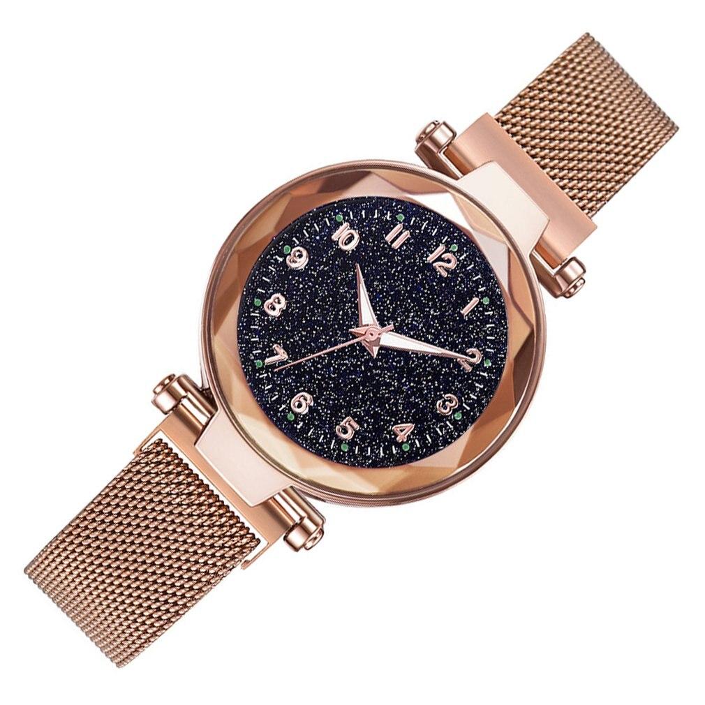 Магнитные роскошные женские часы Звездное небо женские часы кварцевые наручные часы модные женские нарядные часы Reloj Mujer Relogio Feminino