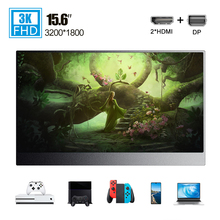 15.6 Type-C PD HDMI 4K portable monitor LCD screen ultra thin for Phone PC computer laptop gaming Ps4 Switch Xbox display USB C недорого