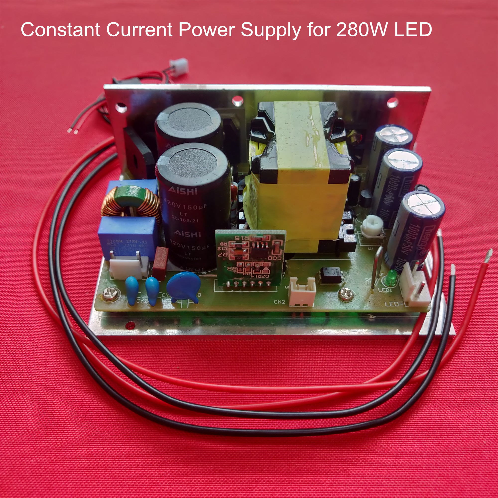 HD LED Projector/projection 1080p Diy Constant Current Power Supply For Led 280W With Overload Protection 45V