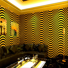New ktv wallpaper karaoke flash wall covering 3d reflective special bar theme box Internet cafe wifi TV background wall paper