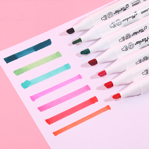 Image 4 - CHENYU 30/40/60/80 pièces marqueurs dalcool Manga dessin marqueurs stylo à base dalcool Non toxique croquis huileux double brosse stylo Art fournitures