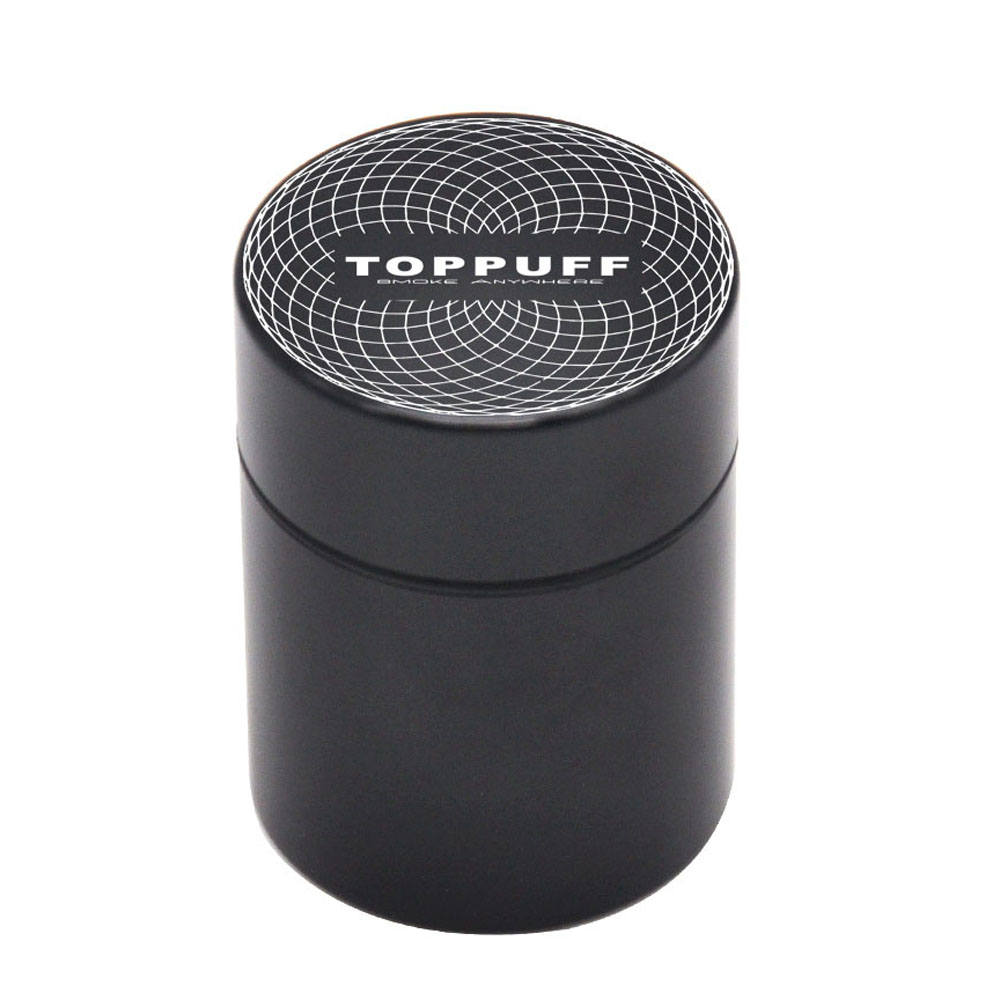 Premium Aircraft Aluminum Airtight Stash Jar 1.3 Inches Multi-Use Vacuum Seal Portable Storage Container