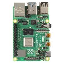 Последние Raspberry Pi 4 Model B с 1/2/4gb Ram Bcm2711 4 ядра Cortex a72 Arm V8 1,5 ГГц Поддержка 2,4/5,0 ГГц Wi Fi Bluetooth 5,0