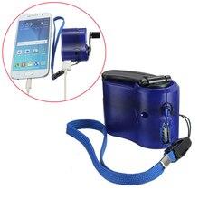 Зарядное устройство для телефона с USB-портом и ручным управлением, уличный походный кемпинговый аварийный генератор, Портативное аварийное...