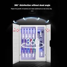 אנרגיה סולארית UV מברשת שיניים חיטוי ניקוי סוכן אחסון אמבטיה לא צריך תשלום משחת שיניים Dispenser מחזיק Sanitizer