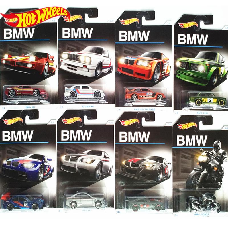 Hot Wheels Sports Car BMW M3 Collector Edition Series Metal Alloy Diecasts Car Model Children Boy Birthday Gift DJM79