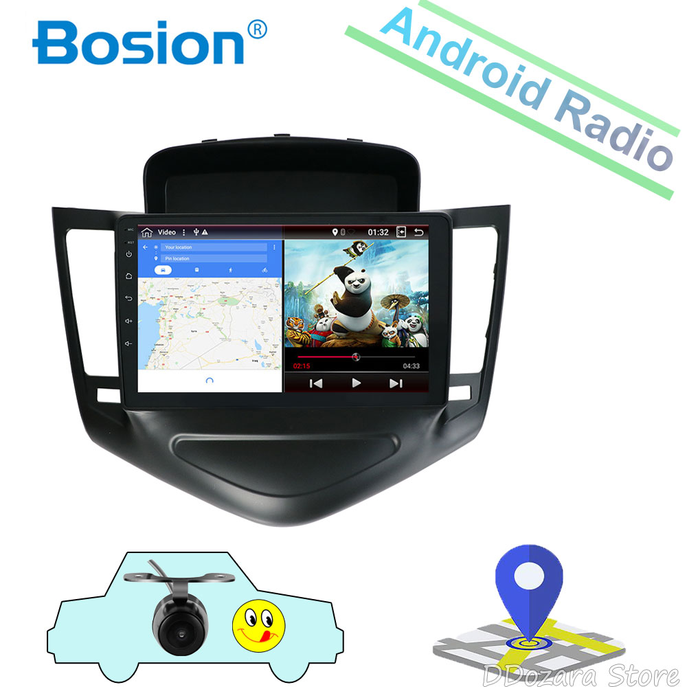 9 Inch Android 9.0 Multimedia Player For 2013 2014 <font><b>2015</b></font> <font><b>Chevrolet</b></font> <font><b>Cruze</b></font> GPS Navi 2din Car Radio Touchscreen Head Unit image
