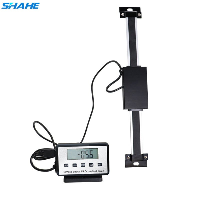 0 150mm Digital Scales Remote Digital Table Readout Scale for Bridgeport Mill Lathe Linear Ruler with Base-in Level Measuring Instruments from Tools