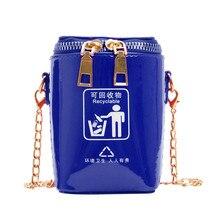 Женская сумка-мессенджер, модная дизайнерская сумка-мешок для сортировки мусора, сумка-мешок на одно плечо, сумка через плечо, кошелек для монет для ребенка