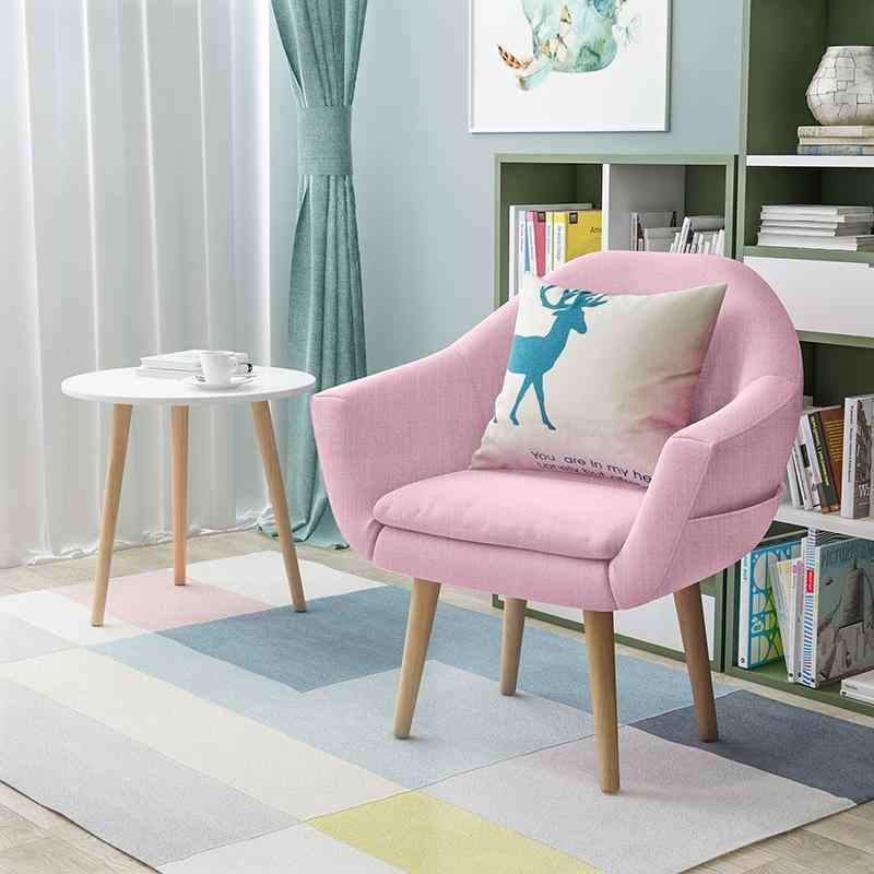 Nordic Single Lazy Sofa Small Apartment Balcony Lounge Chair Girl Cute Bedroom Living Room Small Sofa Chair Aliexpress