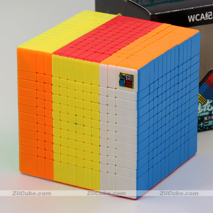 Magische kubus puzzel MoYu Cubing klaslokaal MeiLong 12x12x12 12x12 professionele hoge niveau cube educatief twist wijsheid speelgoed spel - 5