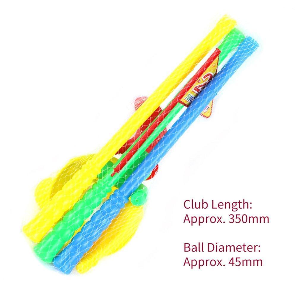 1 Set Multicolor Plastic Golf Toys For Children Outdoor Backyard Sport Game AR