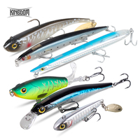Kingdom Hot Fishing lures Combo Set 1 for Fishing trout and poles 2 for l'aspe 3 for Pike 4 for anglers in sea