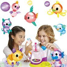 The Oonies Refill-Pack dzieci DIY Handmade kreatywny Sticky Ball Onoies Bubble Inflator Toy Table GameToy balon zestaw do gry