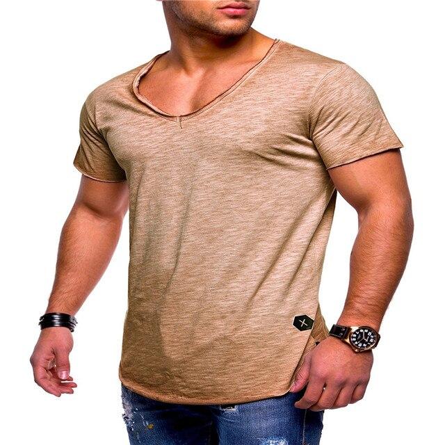 Deep V Neck Tshirt 10