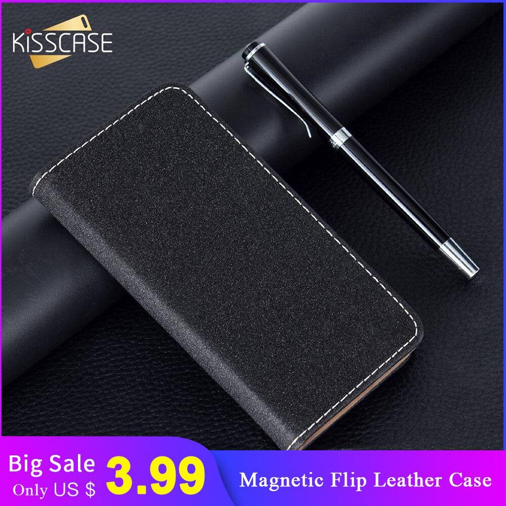 KISSCASE coque de téléphone en cuir pour 11Pro MAX XR X portefeuille à rabat étui pour iPhone 7 8 6 6s Plus Capa magnétique pour iPhone 11 XS MAX sac