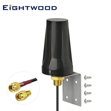 Eightwood 4G LTE Cellular Trail Camera Antenna Wall Mount RP-SMA Male Aerial for SPYPOINT Link Micro Link Dark Link S Link EVO tanie tanio CN(Origin) ROHS 2020 GP-KIT-4G-08 Volkswagen 698-960 MHz 1710-2170 MHz 2300-2700 MHz Aerials 4G LTE Antenna 265g 829 2200 MHz 2500MHz