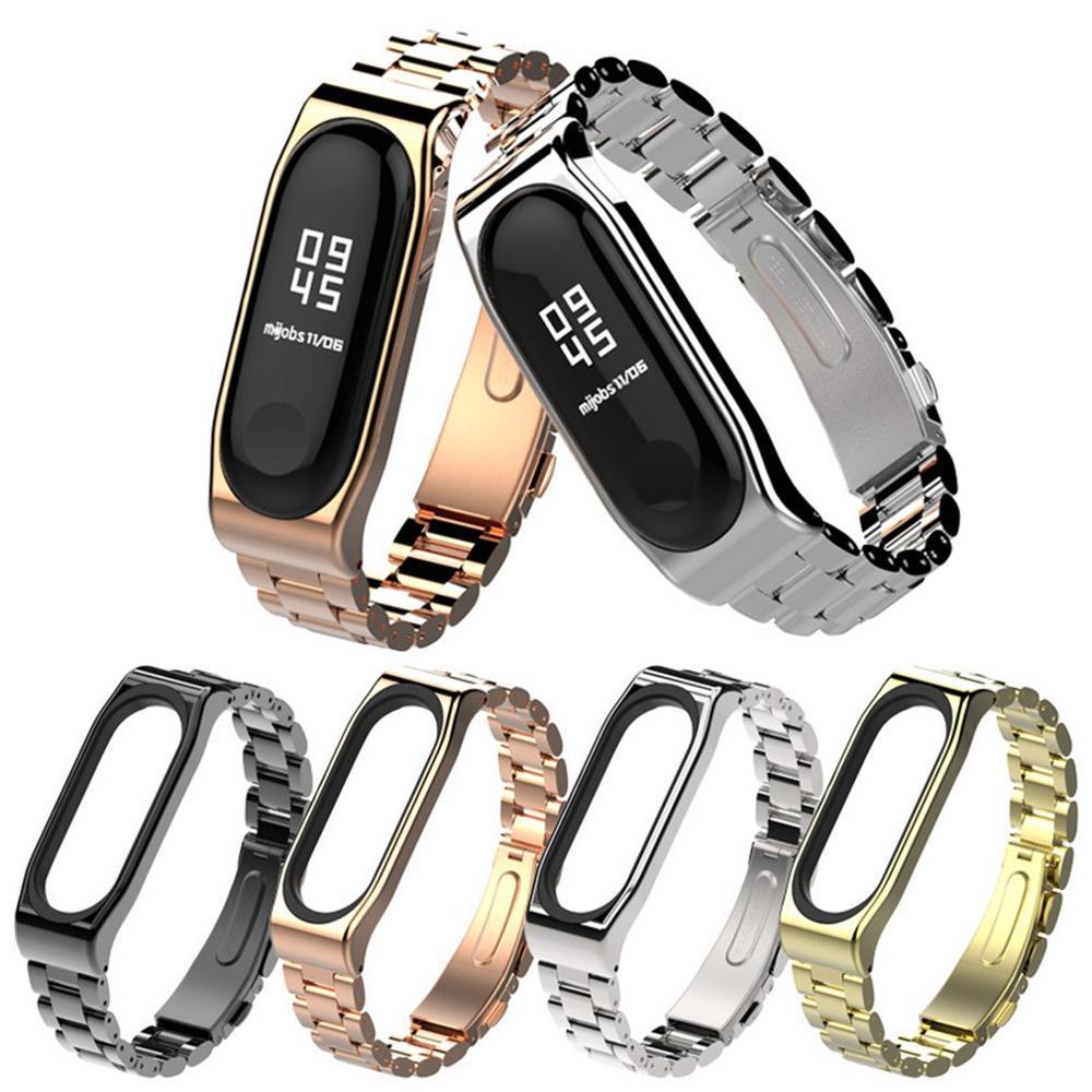 Подходит для Браслет millet 3 металлический ремешок браслет для мужчин магнитное поглощение три бусины сменный ремешок