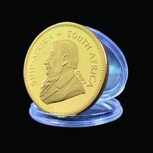 1967 South Africa Krugerrand 1OZ Gold Coin Paul Kruger Token Value Collectible