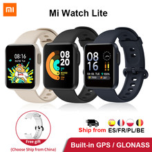 Xiaomi Mi montre Lite GPS Mi montre intelligente Version mondiale Smartwatch 2020 1.4