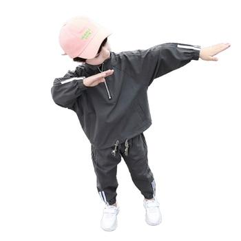 Pakian Set Anak Laki Laki Lengan dan Celana Panjang  4