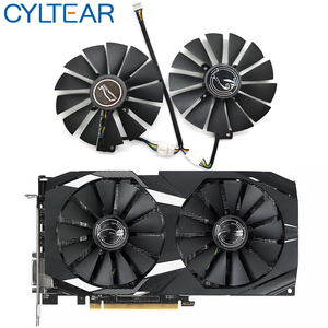 T129215SM 95mm Cooler Fan For ASUS STRIX RX 470 580 570 GTX 1050Ti 1070Ti 1080Ti Gaming Video Card Cooling Fan