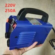 220v 250a soldador, alta qualidade barato e portátil máquina de solda inversor ZX7 250