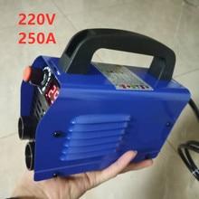 Soldador portátil de 220V 250A, máquina de soldadura portátil y barata de alta calidad, ZX7 250