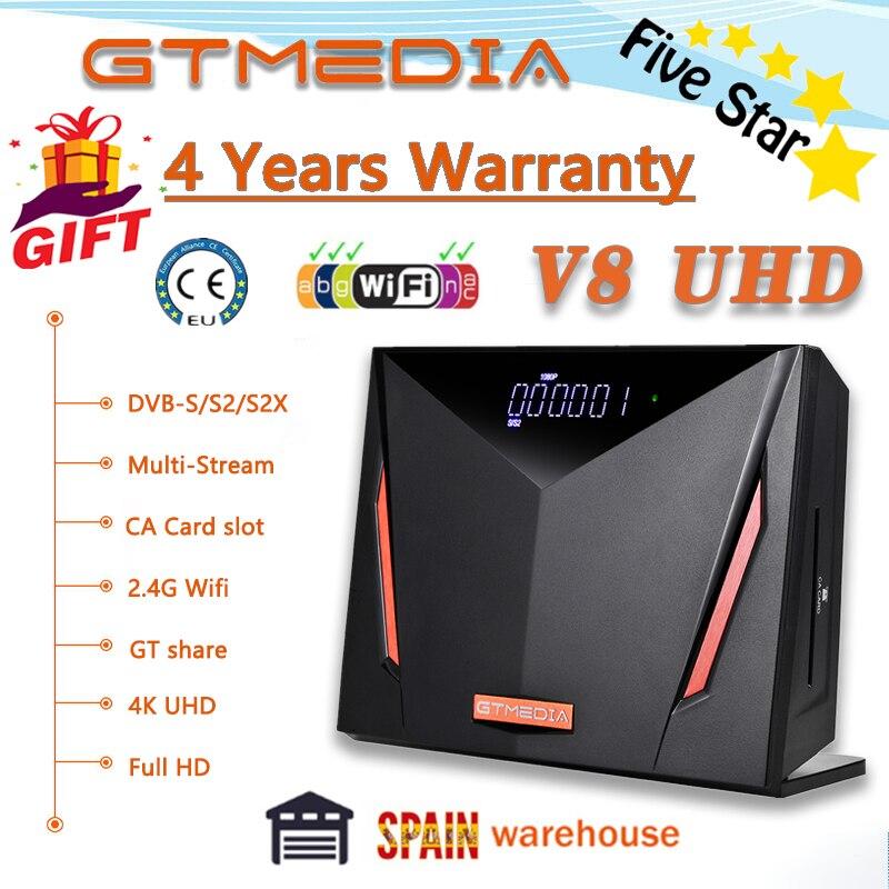 Новейший спутниковый ресивер GTmedia v8 uhd обновленный GTmedia V8 Nova Встроенный Wi-Fi Full HD GTmedia V8 Honor freesat v9 super no app