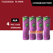 4 шт. тадиран TL-5903 ER14500 14505 3,6 V AA литиевая батарея plc