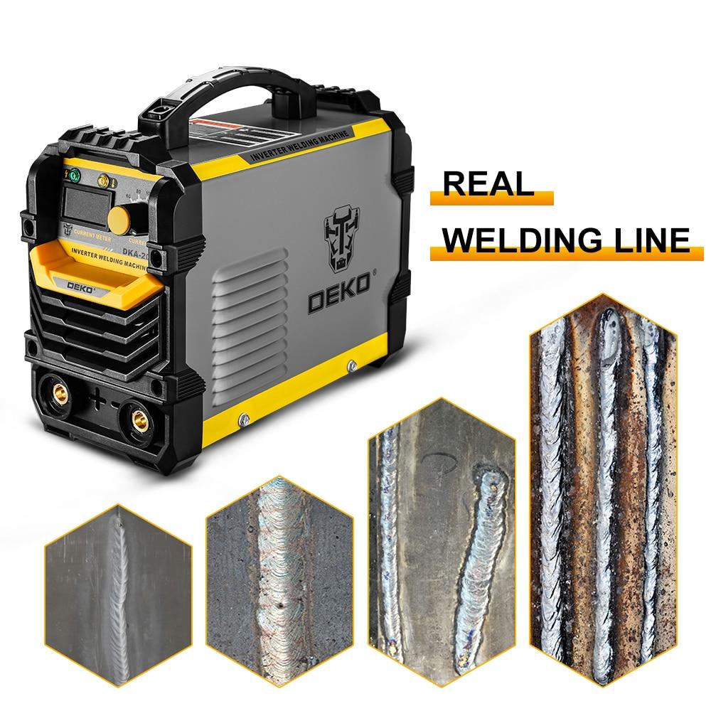DEKO Inverter ARC Welder Welding-Machine Portable 220V Home MMA IGBT DC for Beginner