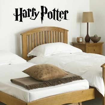 Harry Potter Accessories Wall Mural Giant Art Sticker Matt Vinyl Decal Wall Stickers Wallpaper Kitchen Bedroom Home Decal