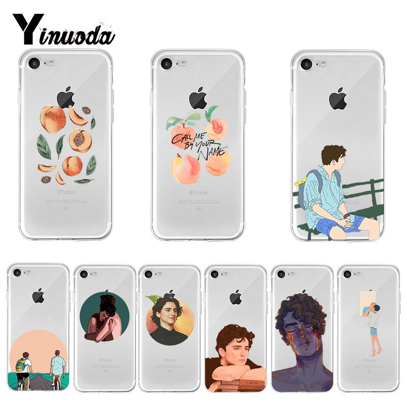 Yinuoda Call Me by Your Name Luxury Quality Phone Case for iPhone 8 7 6 6S Plus X XS MAX 5 5S SE XR 11 pro max