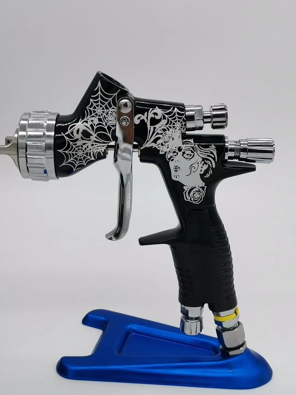 Новый профессиональный распылитель GTI PRO LITE 1,3/1,4 сопло w/t бак пистолет для краски автомобиля инструмент пистолет-распылитель Защита окружаю...