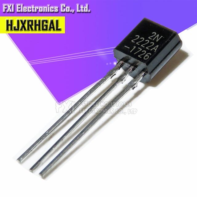 100PCS 2N2222 2N2222A TO-92 TO 92 Transistor New original 1