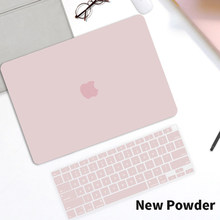 Hard Shell Matte Laptop Case For Macbook Pro Air M1 13 A2159 A2289 A2338 Air 13 inch A2337 A2179 A1932 A1466 With Keyboard Cover