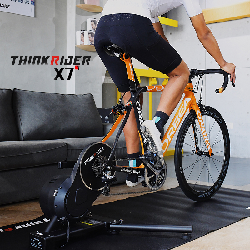 Thinkrider X7 3TH MTB Road Bicycle Smart Bike Trainer Built-in Power Meter Bike Trainers Platform For PowerFun Zwift PerfPro