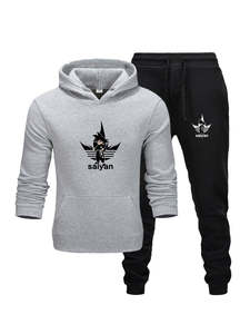 Men Tracksuit Hoodies Pants-Sets Brand Clothes Sportswear Fashion New Hot Autumn Goldfly