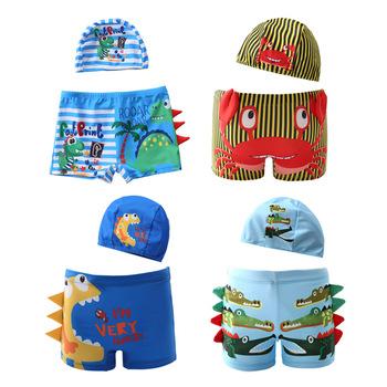 Chłopcy stroje kąpielowe 2021 dinozaury i krokodyl drukowanie 2-12 lat dzieci letnia plaża pływanie chłopiec strój kąpielowy tanie i dobre opinie 25-36m 4-6y 7-12y NYLON CN (pochodzenie) Lato W stylu rysunkowym Szorty kąpielowe
